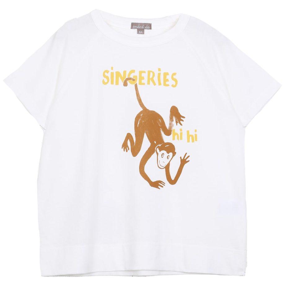 T-shirt singeries emile et ida