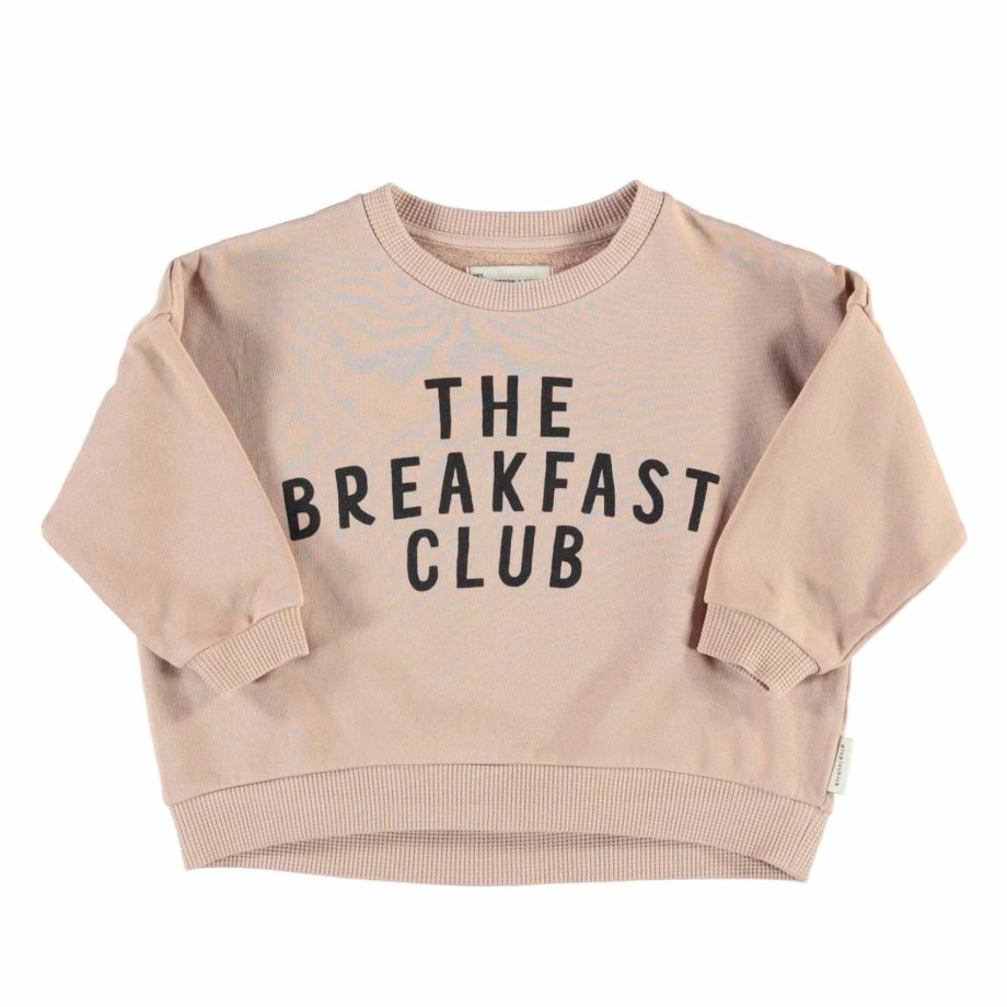 Sweat oeuf au plat The Breakfast Club Piupiuchick en coton bio
